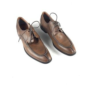 Robert Wayne Men's Brown Oxfords